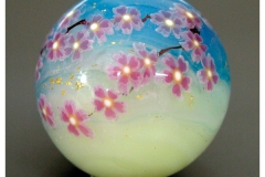 cherry blossom, marble (2007)